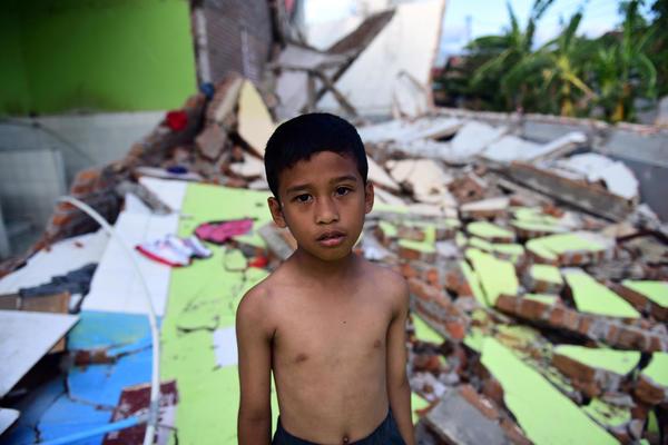 EMERGENCIA TERREMOTO Y TSUNAMI EN INDONESIA