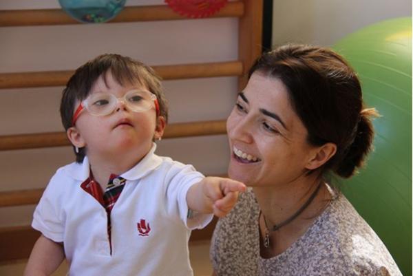 Ayuda a menores con síndrome de Down