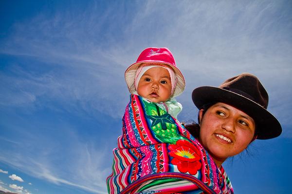 Mejora de la nutrición en las comunidades rurales de Perú