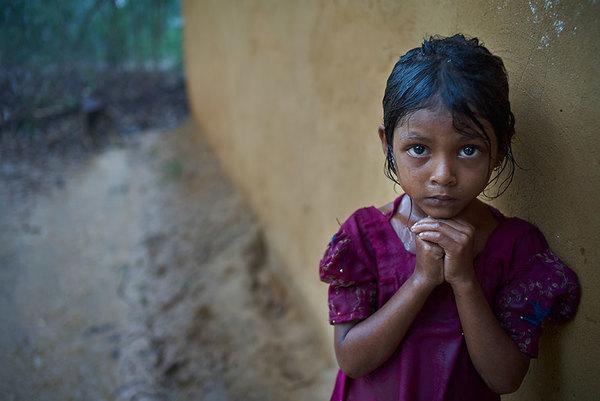 Atención médica a niños y niñas rohingya