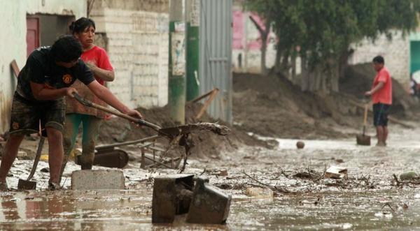 Inundaciones y Huaicos (riadas) en Perú