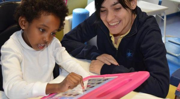 Integración de niños y niñas con parálisis cerebral